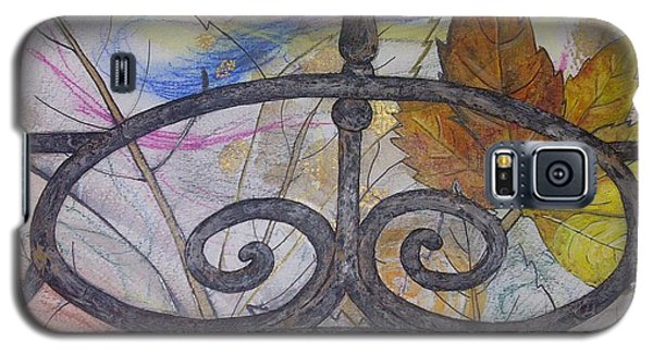 Galaxy S5 Case featuring the mixed media As It Comes 2 by Malinda  Prudhomme