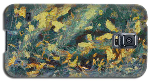 Galaxy S5 Case featuring the painting As The Wind Blows by Joe Misrasi