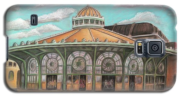 Asbury Park Carousel House Galaxy S5 Case by Melinda Saminski