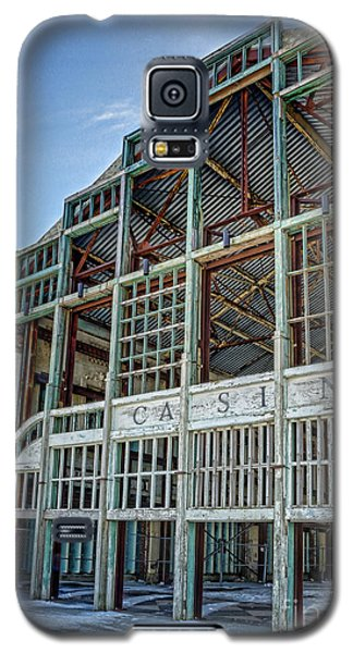 Asbury Park Casino And Carousel House Galaxy S5 Case by Lee Dos Santos