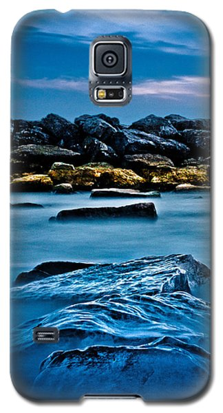 Galaxy S5 Case featuring the photograph Ashbridges Bay Toronto Canada Breakwall 4 by Brian Carson