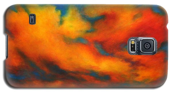 Galaxy S5 Case featuring the painting Ashes Within by Alison Caltrider