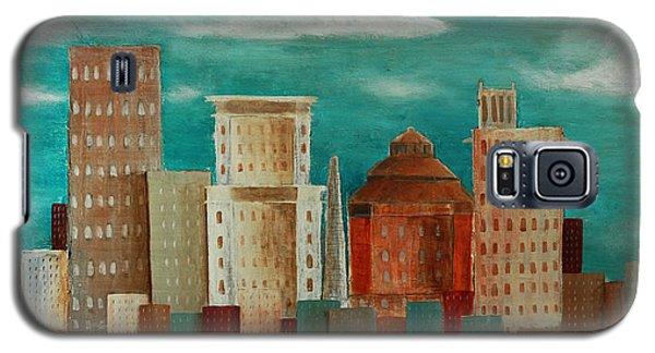Asheville Skyline Galaxy S5 Case by Gray  Artus