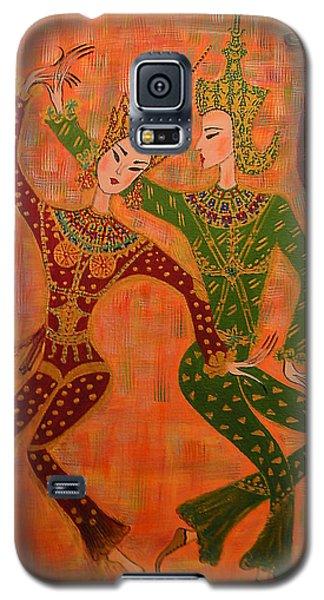 Asian Dancers Galaxy S5 Case by Marie Schwarzer