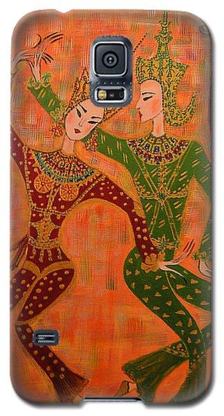 Asian Dancers Galaxy S5 Case