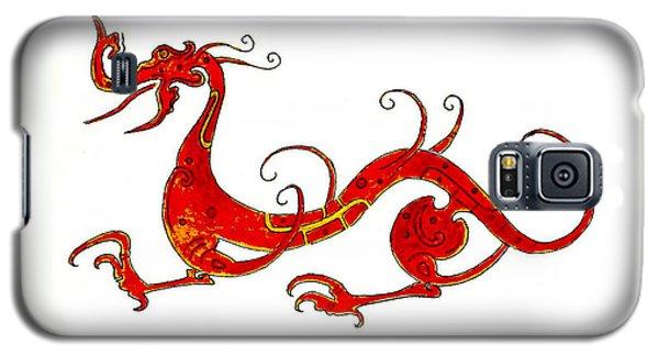 Dragon Galaxy S5 Case - Asian Dragon by Michael Vigliotti