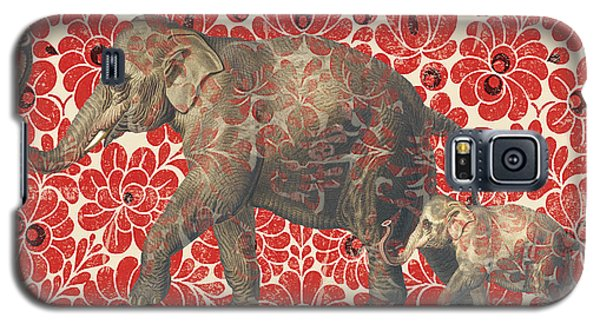 Asian Elephant-jp2185 Galaxy S5 Case