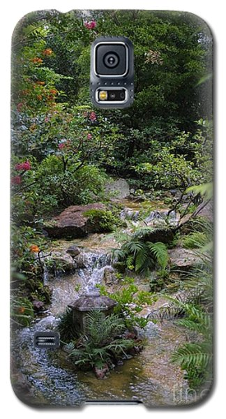 Galaxy S5 Case featuring the photograph Asian Garden by Dodie Ulery