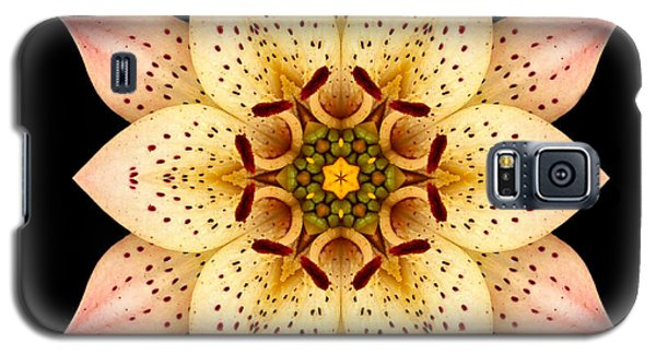 Asiatic Lily Flower Mandala Galaxy S5 Case