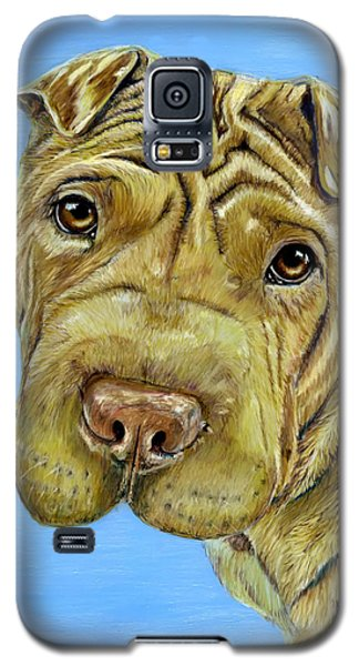 Beautiful Shar-pei Dog Portrait Galaxy S5 Case