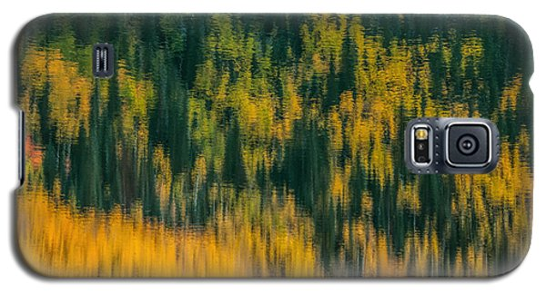 Galaxy S5 Case featuring the photograph Aspen Abstract by Ken Smith