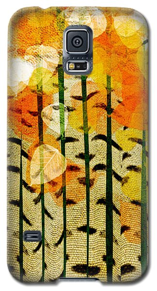 Aspen Colorado Abstract Square 4 Galaxy S5 Case