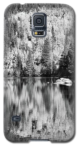 Aspen Reflections - Black And White Galaxy S5 Case