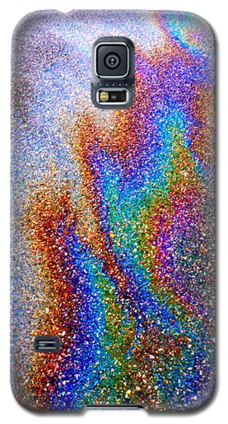 Asphalt Oil Slick Galaxy S5 Case