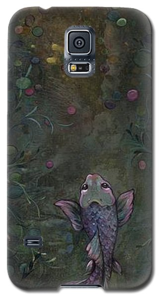 Aspiration Of The Koi Galaxy S5 Case by Shadia Derbyshire
