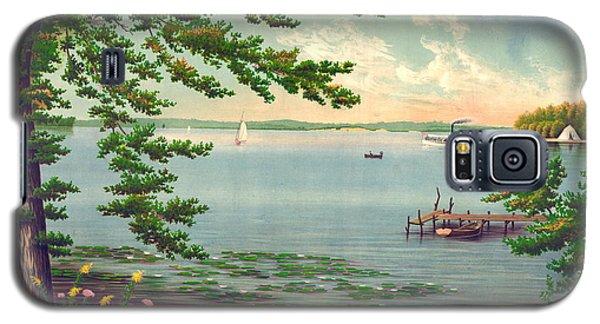 Assawompset Pond 1875 Galaxy S5 Case