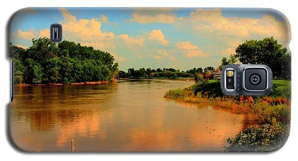 Assiniboine River Hdr Galaxy S5 Case