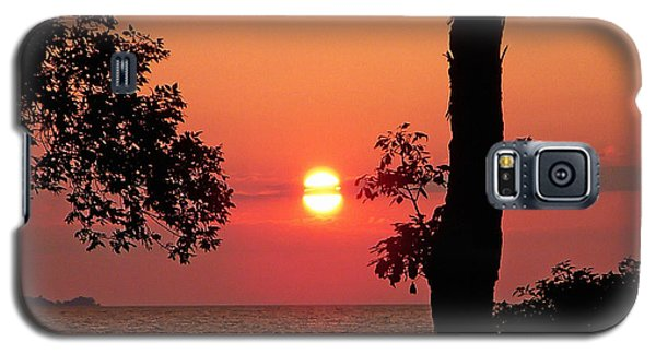 Galaxy S5 Case featuring the photograph Association Island Sunset by Aimee L Maher Photography and Art Visit ALMGallerydotcom