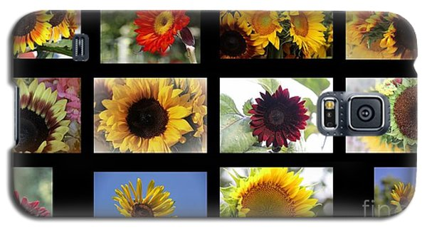Assorted Sunflower Galaxy S5 Case by Yumi Johnson