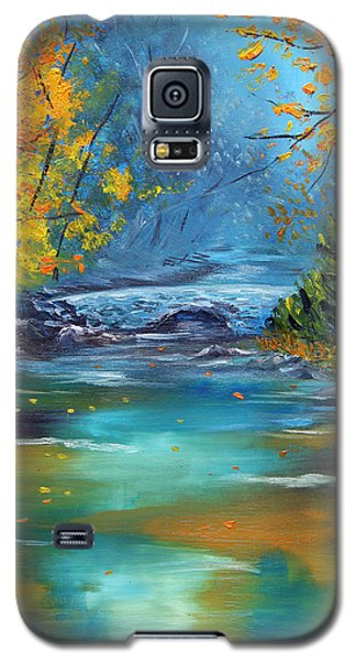 Galaxy S5 Case featuring the painting Assurance by Meaghan Troup