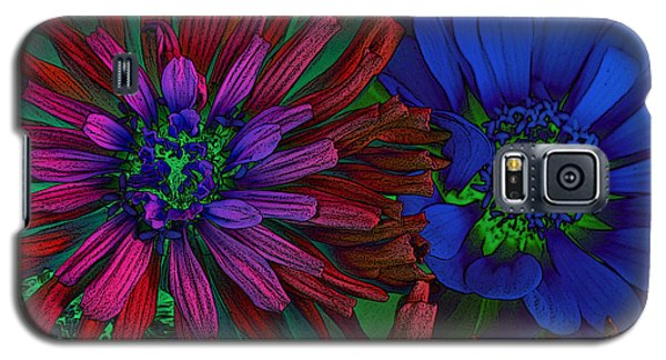 Asters Galaxy S5 Case by David Pantuso