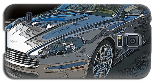 Aston Martin Db S Coupe 3/4 Front View Galaxy S5 Case by Samuel Sheats
