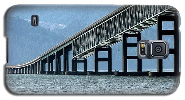 Astoria-megler Bridge Cormorants Galaxy S5 Case