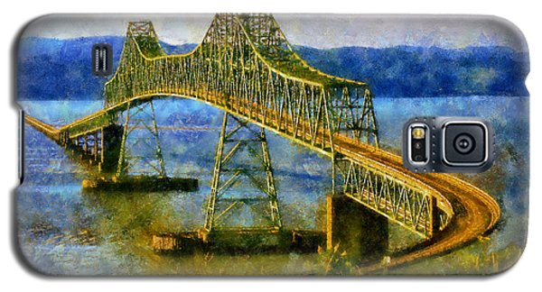 Astoria Megler Bridge Galaxy S5 Case