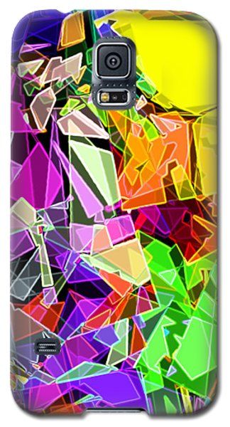 Galaxy S5 Case featuring the digital art Astratto - Abstract 51 by Ze  Di