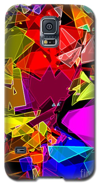 Galaxy S5 Case featuring the digital art Astratto - Abstract 53 by Ze  Di