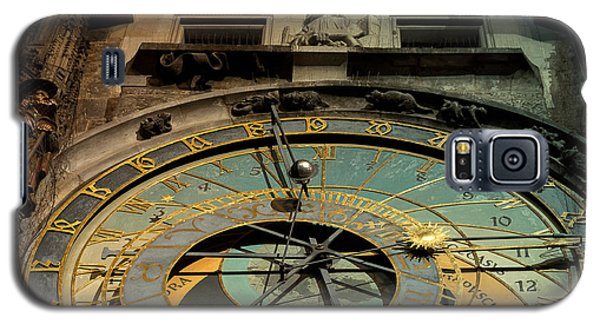 Galaxy S5 Case featuring the photograph Astronomical Clock by Sergey Simanovsky