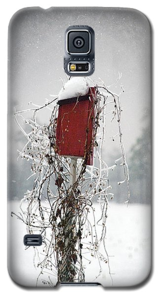 At Home In The Snow Galaxy S5 Case