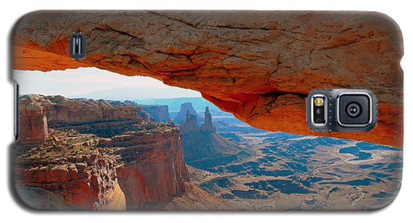 At Mesa Arch  --   2010 First Place Peoples Choice Caa Art Show  Galaxy S5 Case