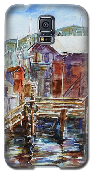 At Monterey Wharf Ca Galaxy S5 Case by Xueling Zou