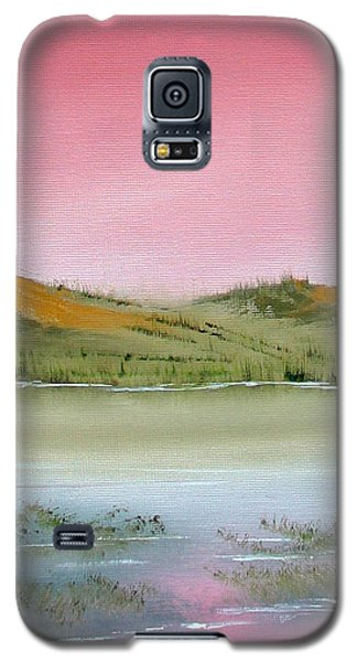 Galaxy S5 Case featuring the painting At Peace by Jennifer Muller