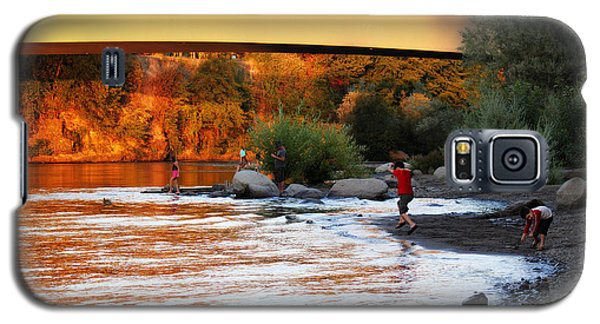 Galaxy S5 Case featuring the photograph At Rivers Edge by Melanie Lankford Photography