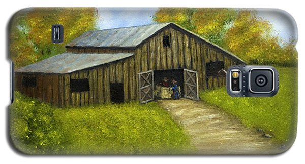 At The Barn Galaxy S5 Case