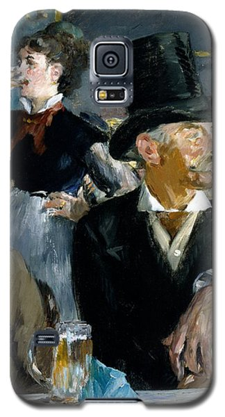 At The Cafe Concert Galaxy S5 Case by Edouard Manet
