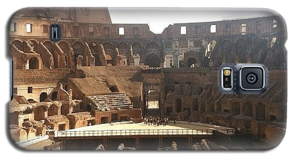 Style Galaxy S5 Case - The Colosseum In Rome by Marcela Martinez