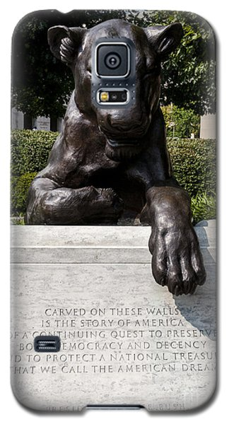At The National Law Enforcement Officers Memorial In Washington Dc Galaxy S5 Case