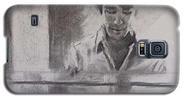 At The Piano Galaxy S5 Case by Carol Berning