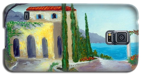 At The Seaside Amalfi Galaxy S5 Case