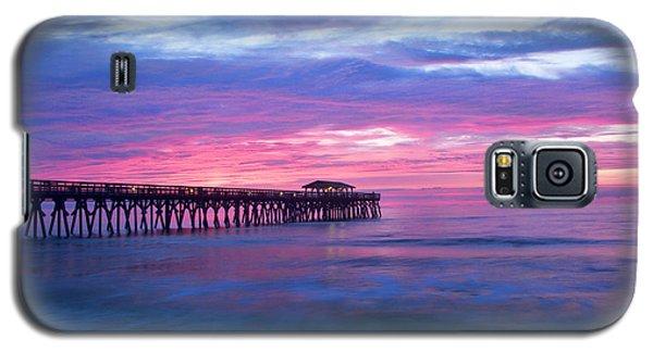 Myrtle Beach State Park Pier Sunrise Galaxy S5 Case
