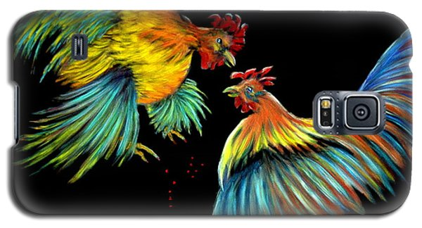 At The Top Of His Game  Pastel Galaxy S5 Case by Antonia Citrino
