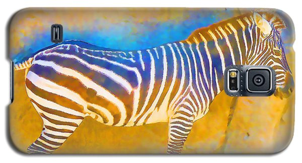 At The Zoo - Zebras Galaxy S5 Case