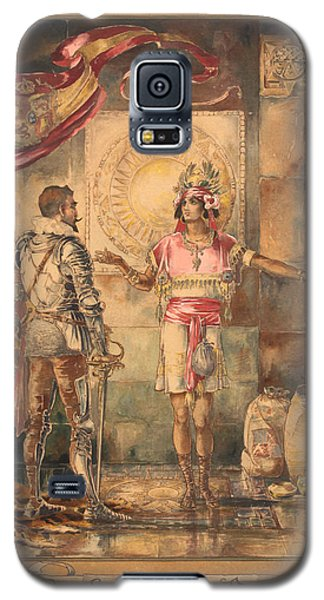 Atahualpa's Ransom Helen Maitland Armstrong Galaxy S5 Case by Paul Ashby Antique Paintings