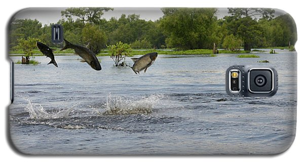 Atchafalaya Swamp Jumping Fish Galaxy S5 Case