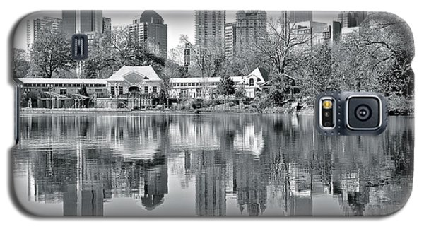 Atlanta Reflecting In Black And White Galaxy S5 Case by Frozen in Time Fine Art Photography