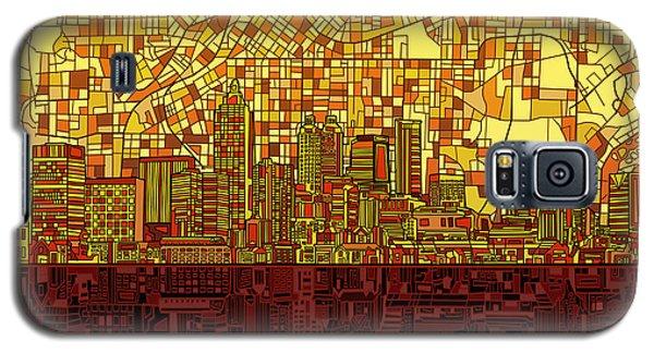 Atlanta Skyline Abstract 3 Galaxy S5 Case