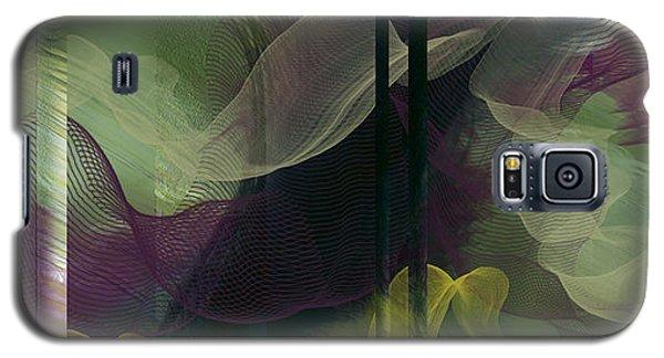 Galaxy S5 Case featuring the digital art Atlantian Scarves by Constance Krejci